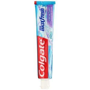 Colgate Max Fresh Intense Foam zubná pasta pre dôkladné vyčistenie zub