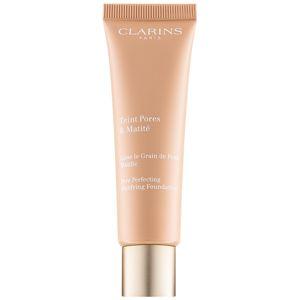 Clarins Pore Perfecting zmatňujúci make-up pre minimalizáciu pórov odtieň 05 Nude Cappuccino 30 ml