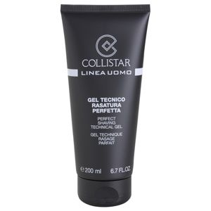 Collistar Perfect Shaving Technical Gel gél na holenie 200 ml