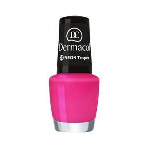 Dermacol Neon neónový lak na nechty odtieň 22 Tropéz 5 ml