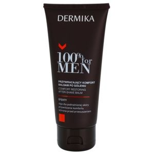 Dermika 100% for Men upokojujúci balzam po holení 100 ml
