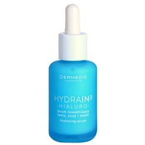 Dermedic Hydrain3 Hialuro hydratačné pleťové sérum pre suchú až veľmi suchú pleť 30 ml