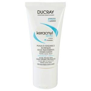 Ducray Keracnyl regeneračný a hydratačný krém pre pleť vysušenú a podráždenú liečbou akné 50 ml