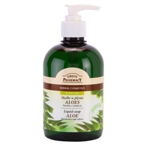Green Pharmacy Hand Care Aloe tekuté mydlo 465 ml