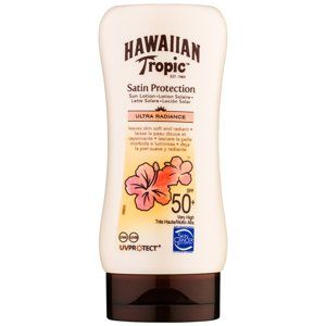 Hawaiian Tropic Satin Protection opaľovacie mlieko SPF 50+ 180 ml