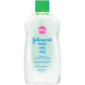 Johnson's Baby Care olej s aloe vera 200 ml