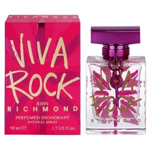 John Richmond Viva Rock deospray pre ženy 50 ml