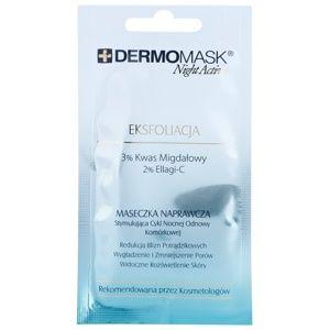 L'biotica DermoMask Night Active exfoliačná maska pre obnovu povrchu pleti 12 ml