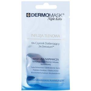 L'biotica DermoMask Night Active okysličujúca maska 12 ml