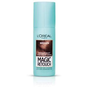 L'Oréal Paris Magic Retouch sprej pre okamžité zakrytie odrastov odtieň Brown 75 ml