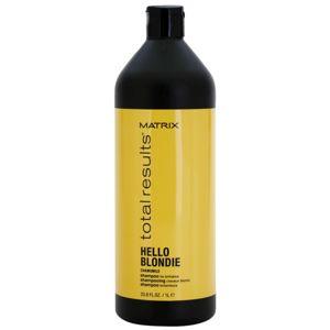Matrix Total Results Hello Blondie ochranný šampón pre blond vlasy 1000 ml