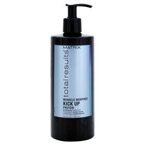 Matrix Total Results Miracle Morpher Kick up proteínová starostlivosť pre jemné vlasy a poškodené vlasy 500 ml