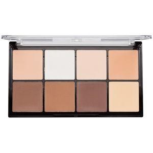 Makeup Revolution Ultra Pro HD Fair paleta na kontúry tváre púdrová 20 g
