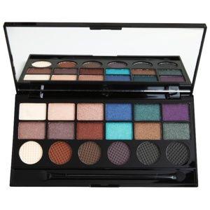 Makeup Revolution Welcome To The Pleasuredome paletka očných tieňov