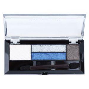 Max Factor Smokey Eye Drama Kit paleta očných tieňov a tieňov na obočie s aplikátorom odtieň 06 Azure Allure 1,8 g