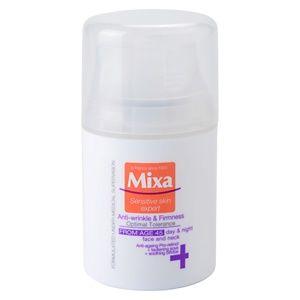 MIXA 24 HR Moisturising spevňujúci protivráskový krém 45+ 50 ml