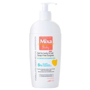 MIXA Baby sprchový gél a šampón 2 v 1 pre deti 250 ml