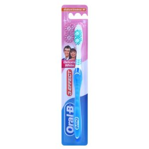 Oral B 3-Effect Delicate White zubná kefka medium Blue
