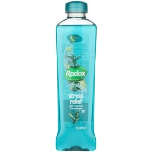 Radox Feel Restored Stress Relief pena do kúpeľa Rosemary & Eucalyptus 500 ml