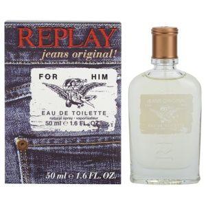 Replay Jeans Original! For Him toaletná voda pre mužov 50 ml