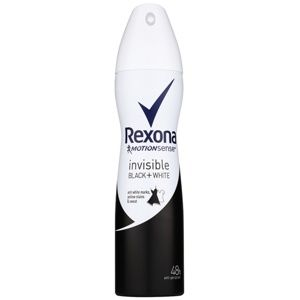 Rexona Invisible Black and White antiperspirant v spreji