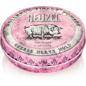 Reuzel Hollands Finest Pomade Grease pomáda na vlasy silné spevnenie 113 g