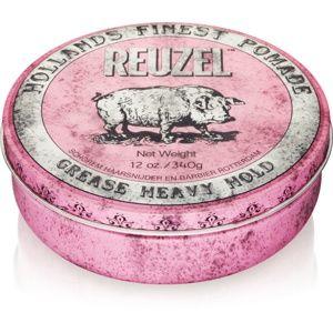 Reuzel Hollands Finest Pomade Grease pomáda na vlasy silné spevnenie 340 g