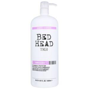 TIGI Bed Head Dumb Blonde šampón pre chemicky ošterené vlasy 1500 ml