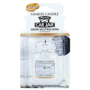 Yankee Candle Fluffy Towels vôňa do auta závesná
