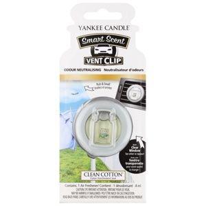 Yankee Candle Clean Cotton vôňa do auta clip 4 ml